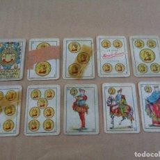 Barajas de cartas: RARA BARAJA ESPAÑOLA LILIPUT - GUERRA CIVIL - 1936 - HERACLIO FOURNIER - PUBLICIDAD AZAFRAN NOVELDA. Lote 78066045