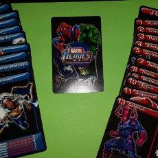 Barajas de cartas: CARTAS CARTS MARVEL HEROES. Lote 78078470