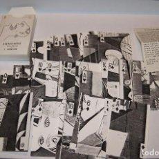 Barajas de cartas: BARAJA GUERNICARTAS INMACULADA GABALDON 1988 NUMERADA Y LIMITADA 32/100. Lote 78141801