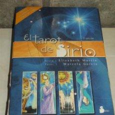 Barajas de cartas: BARAJA TAROT DE SIRIO EN SU ESTUCHE CON EL LIBRO.. Lote 78145617