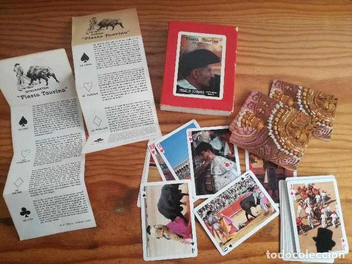 HERACLIO FOURNIER, FIESTA TAURINA, 55 CARTAS. (Juguetes y Juegos - Cartas y Naipes - Otras Barajas)