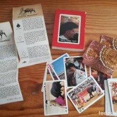 Barajas de cartas: HERACLIO FOURNIER, FIESTA TAURINA, 55 CARTAS.. Lote 78202257
