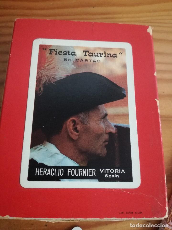 Barajas de cartas: HERACLIO FOURNIER, FIESTA TAURINA, 55 CARTAS. - Foto 2 - 78202257