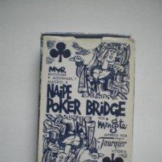 Barajas de cartas: BARAJA POKER DIBUJOS MINGOTE. Lote 78219133