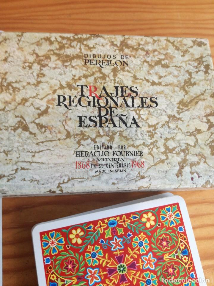 Barajas de cartas: TRAJES REGIONALES DE ESPAÑA, DIBUJOS DE PERELLON. - Foto 3 - 78234857