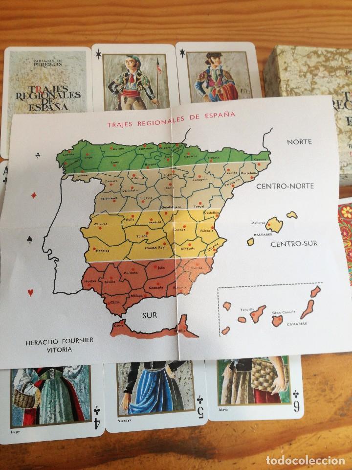 Barajas de cartas: TRAJES REGIONALES DE ESPAÑA, DIBUJOS DE PERELLON. - Foto 4 - 78234857