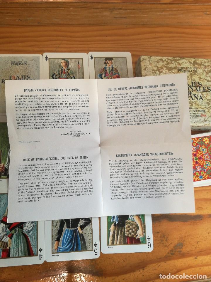 Barajas de cartas: TRAJES REGIONALES DE ESPAÑA, DIBUJOS DE PERELLON. - Foto 5 - 78234857