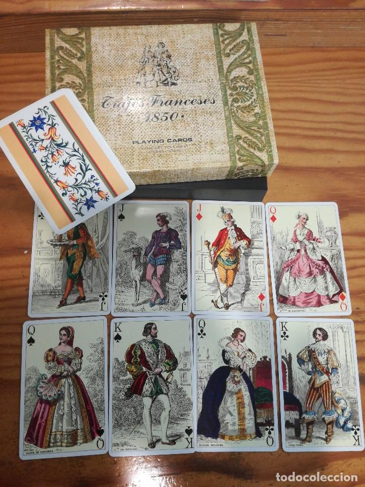 TRAJES FRANCESES 1850, HERACLIO FOURNIER. PRECIOSA. (Juguetes y Juegos - Cartas y Naipes - Otras Barajas)
