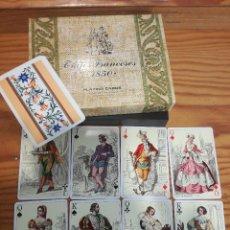 Barajas de cartas: TRAJES FRANCESES 1850, HERACLIO FOURNIER. PRECIOSA.. Lote 78235277