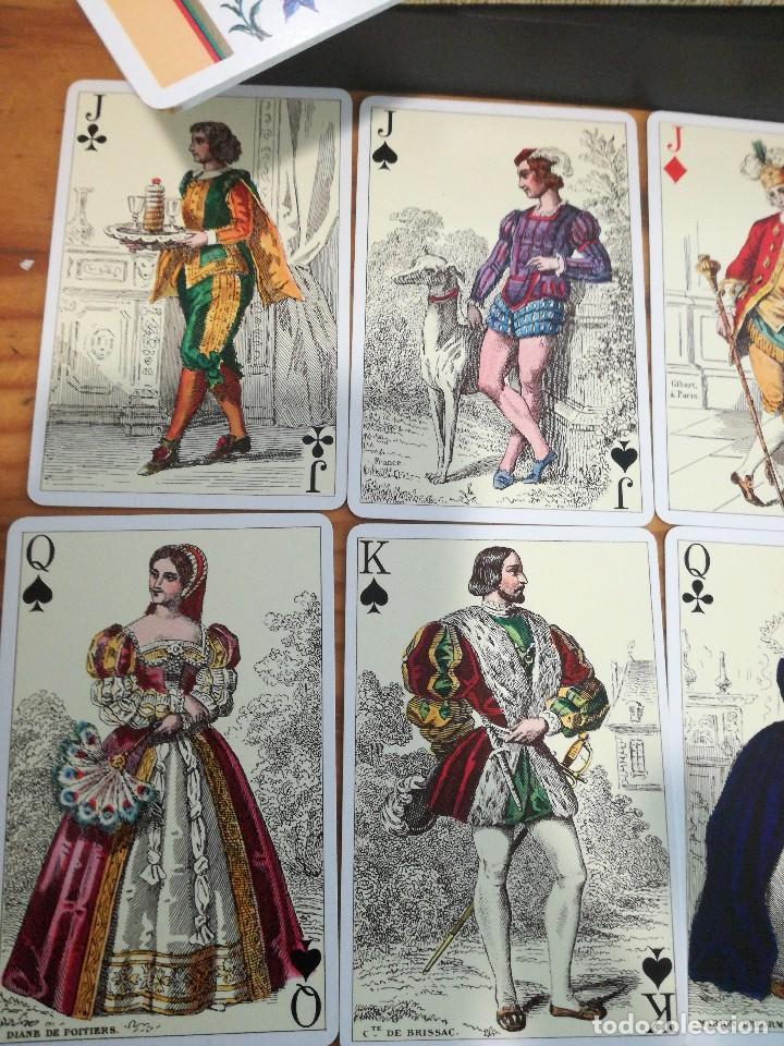 Barajas de cartas: TRAJES FRANCESES 1850, HERACLIO FOURNIER. PRECIOSA. - Foto 2 - 78235277