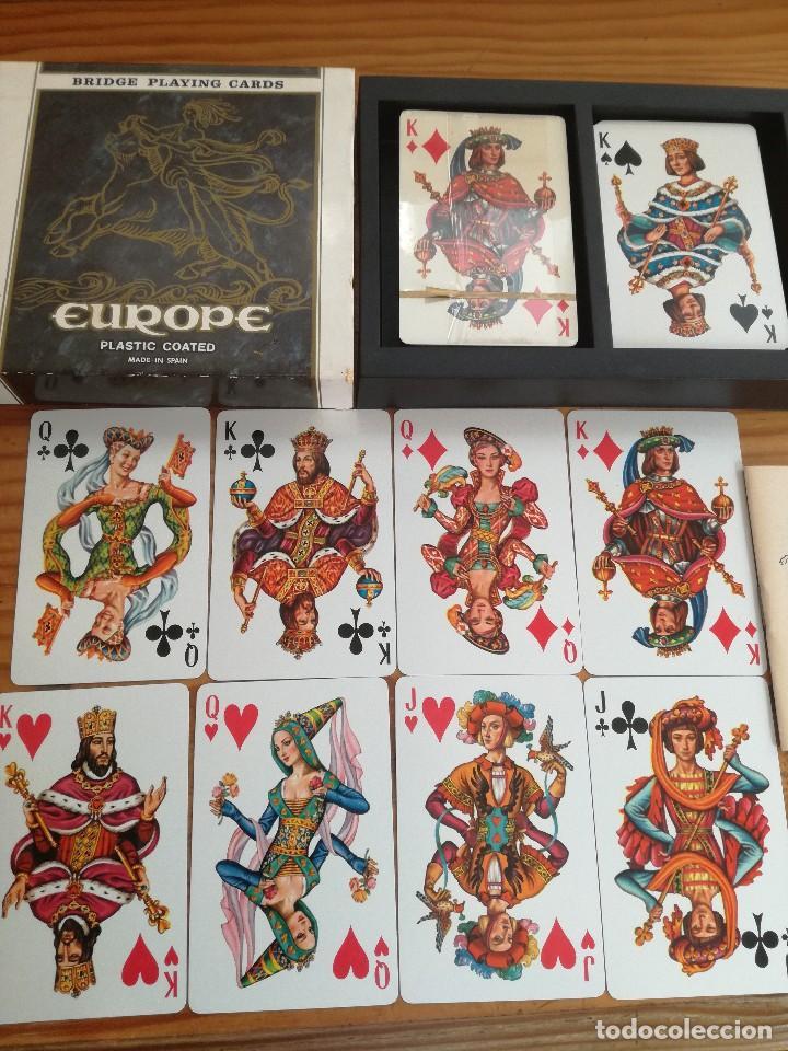 EUROPE, HERACLIO FOURNIER. (Juguetes y Juegos - Cartas y Naipes - Otras Barajas)