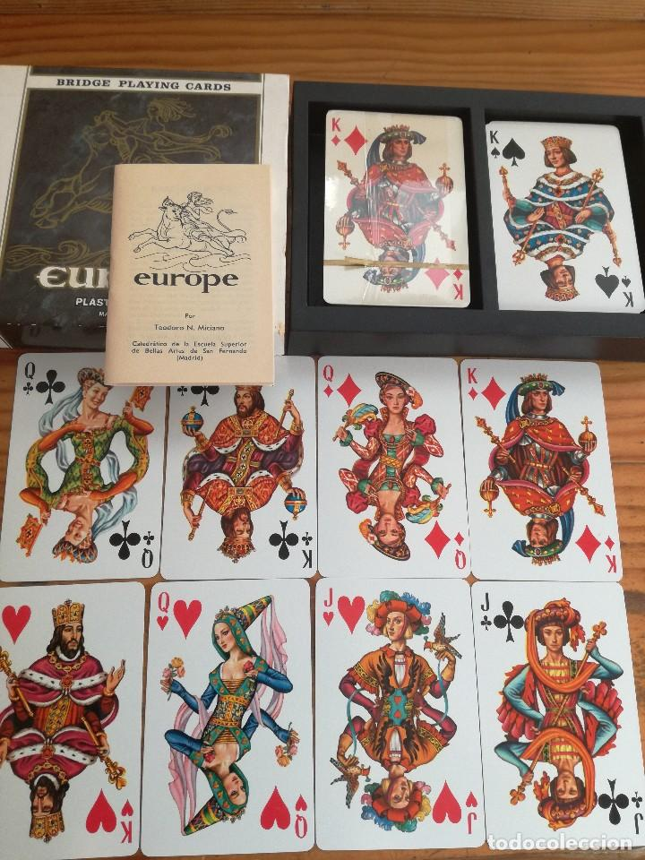 Barajas de cartas: EUROPE, HERACLIO FOURNIER. - Foto 2 - 78235773