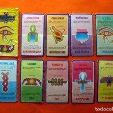 Barajas de cartas: LAS CARTAS EGIPCIAS DEL AMOR - TELE INDISCRETA - COLECCIÓN COMPLETA - AÑOS 80 TELEINDISCRETA. Lote 78442029