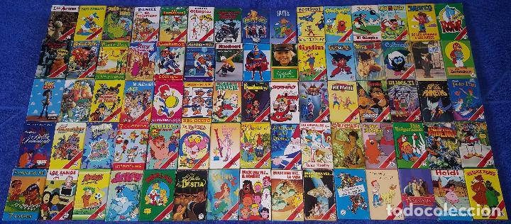 LOTE DE 75 BARAJAS INFANTILES DIFERENTES - FOURNIER ¡IMPECABLES! (Juguetes y Juegos - Cartas y Naipes - Barajas Infantiles)