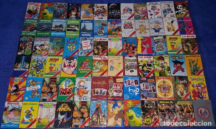 LOTE DE 72 BARAJAS INFANTILES DIFERENTES - FOURNIER ¡IMPECABLES! (Juguetes y Juegos - Cartas y Naipes - Barajas Infantiles)