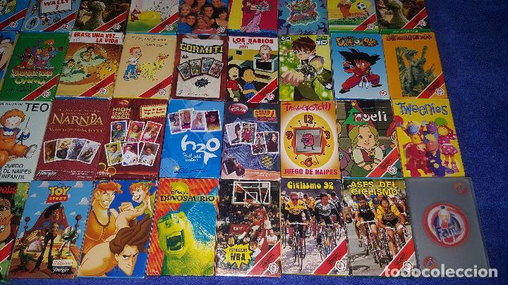 Barajas de cartas: Lote de 72 barajas infantiles diferentes - Fournier ¡Impecables! - Foto 5 - 78634749