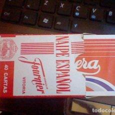 Barajas de cartas: BARAJA CASERA GASEOSA PRECINTADA FOURNIER ROJA RARA . Lote 78826033