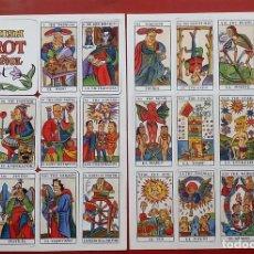 Barajas de cartas: SPANISH TAROT ESPAÑOL - EL JUEVES - LLUISOT - 1990. Lote 79551547