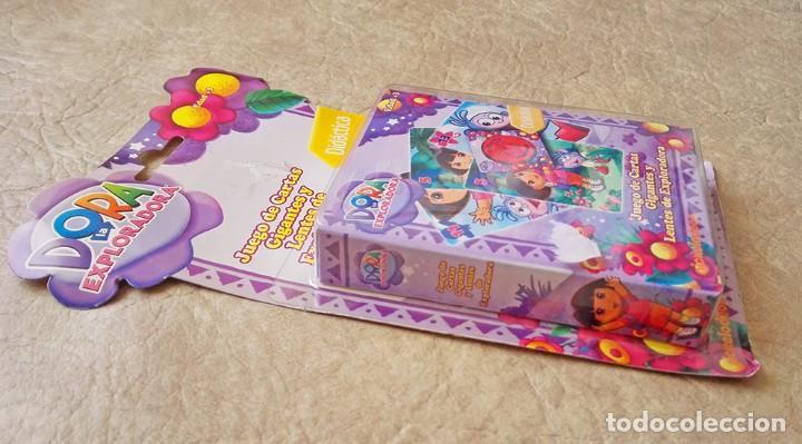 Barajas de cartas: Dora exploradora baraja gigante Juego cartas ingles fournier - Foto 2 - 79576713