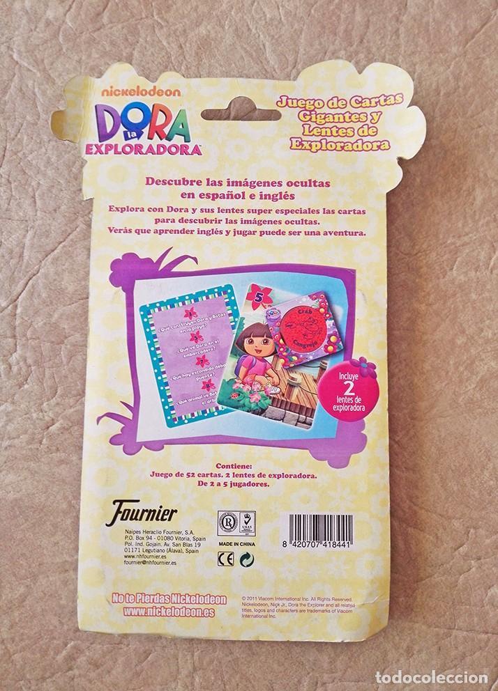 Barajas de cartas: Dora exploradora baraja gigante Juego cartas ingles fournier - Foto 3 - 79576713