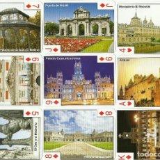 Barajas de cartas: BARAJA DE POKER CON IMAGENES Y MONUMENTOS DE MADRID - NUEVA . Lote 79662237