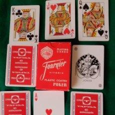 Barajas de cartas: BARAJA DE POKER PUBLICIDAD TAFISA . Lote 79662625
