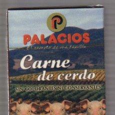Barajas de cartas: BARAJA PUBLICIDAD PALACIOS (PRECINTADA) . Lote 79663217