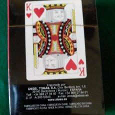 Barajas de cartas: BARAJA DE POKER FRANCESA - NUEVA CON EL PRECINTO ORIGINAL . Lote 79664121