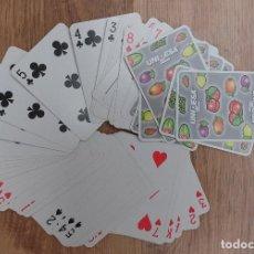 Barajas de cartas: BARAJA DE POKER 55 CARTAS NUEVAS -PUBLICIDAD UNIDESA. Lote 80068977