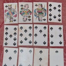 Barajas de cartas: BARAJA FRANCESA MUY ANTIGUA IMPRESA POR EL BELGA VANGENECHTEN. Lote 80095585