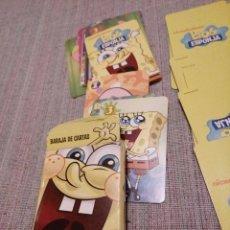 Barajas de cartas: BARAJAS ,CARTAS BOB ESPONJA ,FOURNIER. Lote 80236877