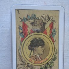 Barajas de cartas: BARAJA DE TOROS DE 40 CARTAS EL GORDITO.N-53. Lote 80399837