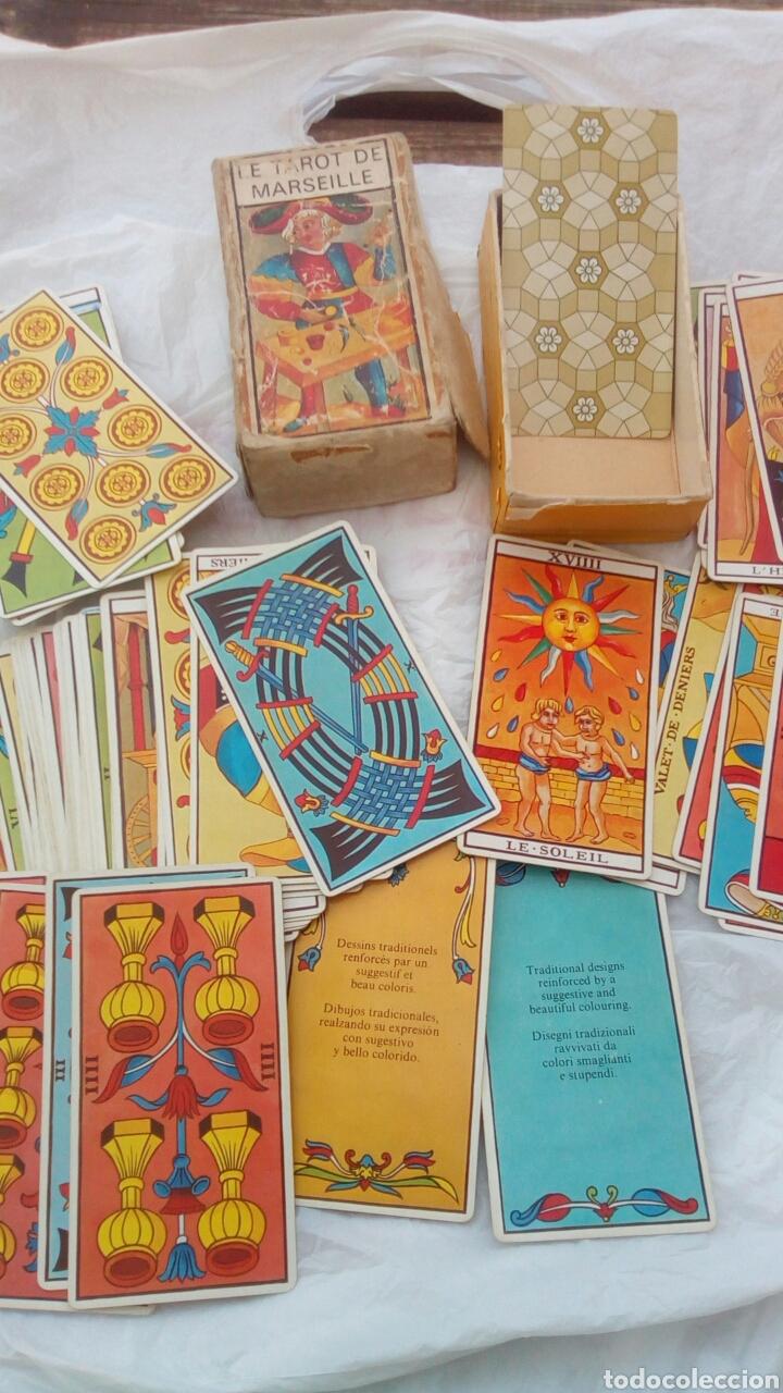 Barajas de cartas: Tarot de Marsella , el verdadero 78 cartas (antigua) - Foto 4 - 80599159