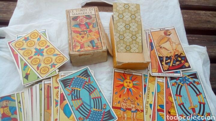Barajas de cartas: Tarot de Marsella , el verdadero 78 cartas (antigua) - Foto 5 - 80599159
