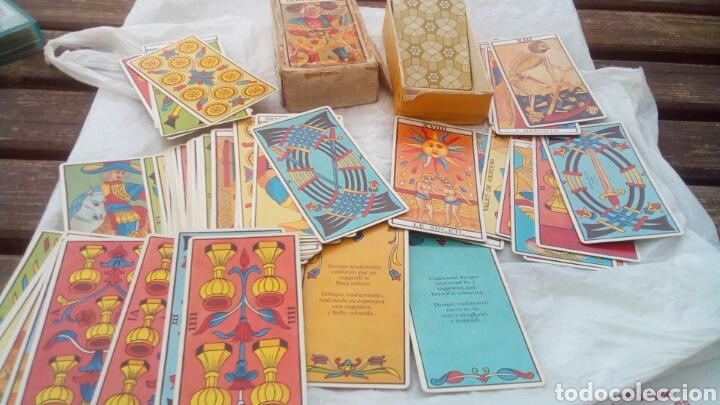 Barajas de cartas: Tarot de Marsella , el verdadero 78 cartas (antigua) - Foto 6 - 80599159