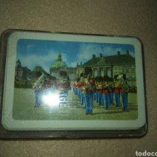 Barajas de cartas: BARAJA POKER GUARDIA COPENHAGUE.SIN USAR PARA JUGAR.SIEMPRE EN SU CAJA.. Lote 80710983