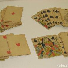 Barajas de cartas: ANTIGUA BARAJA DE CARTAS DE THOMAS CRESWICK. Lote 80823423