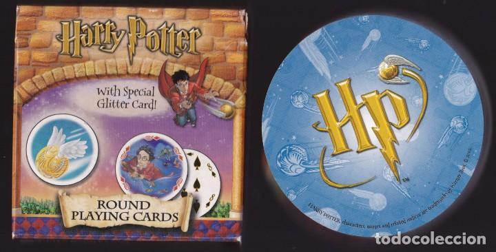BARAJA DE CARTAS REDONDAS HARRY POTTER Y LA PIEDRA FILOSOFAL (Juguetes y Juegos - Cartas y Naipes - Otras Barajas)