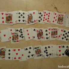 Barajas de cartas: BARAJA POKER - AVIATOR - VITRINA - 90S PLAYING CARDS - 53 CARTAS. Lote 81119500