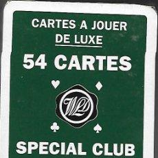Barajas de cartas: BARAJA WILLIAM LAWSON'S SPECIAL CLUB, 54 CARTAS, DEL 2002, PRECINTADA. Lote 81153488