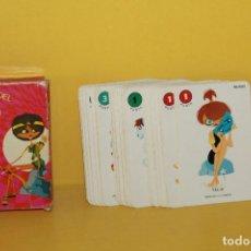 Barajas de cartas: ANTIGUA BARAJA INFANTIL - EL JUEGO DEL OLIMPO - DE EDICIONES RECREATIVAS AÑO 1964. Lote 81619548