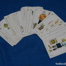 Barajas de cartas: ANTIGUA BARAJA DE FUTBOL AÑOS 20 , F DE CHOCOLATES AMATLLER, COMPLETA, IMPECABLE ESTADO. Lote 81829792