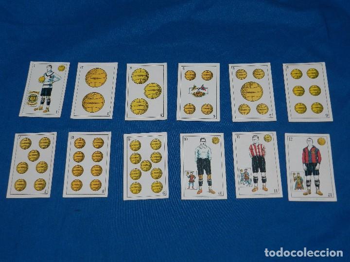 Barajas de cartas: ANTIGUA BARAJA DE FUTBOL AÑOS 20 , F DE CHOCOLATES AMATLLER, COMPLETA, IMPECABLE ESTADO - Foto 3 - 81829792