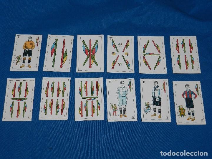 Barajas de cartas: ANTIGUA BARAJA DE FUTBOL AÑOS 20 , F DE CHOCOLATES AMATLLER, COMPLETA, IMPECABLE ESTADO - Foto 4 - 81829792