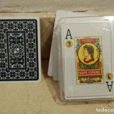 Barajas de cartas: BARAJA - NAIPE ESPAÑOL MAS REYNALS - VITRINA - INCLUYE 55 CARTAS NAIPES. Lote 81962016