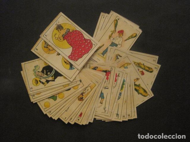 BARAJA COMICA SATIRICA - COMPLETA 40 CARTAS - VER FOTOS-(CR-1024) (Juguetes y Juegos - Cartas y Naipes - Otras Barajas)