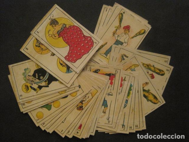 Barajas de cartas: BARAJA COMICA SATIRICA - COMPLETA 40 CARTAS - VER FOTOS-(V-10.306) - Foto 2 - 82017336