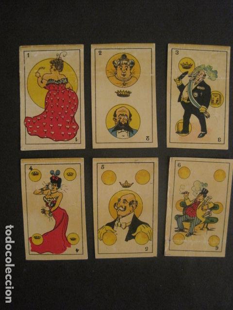 Barajas de cartas: BARAJA COMICA SATIRICA - COMPLETA 40 CARTAS - VER FOTOS-(V-10.306) - Foto 3 - 82017336