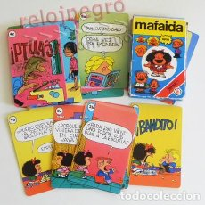 Barajas de cartas: MAFALDA - BARAJA CARTAS HERACLIO FOURNIER - JUEGO JUGUETE - PERSONAJE DE CÓMIC - HUMOR GRÁFICO QUINO. Lote 82219232