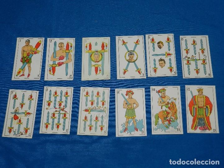 Barajas de cartas: BARAJA DE BOXEO - CAMPEONES DE BOXEO 1923 , COMPLETA 48 CARTAS EN MUY BUEN ESTADO DE CONSERVACION - Foto 4 - 82483604